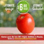 Frutas y Verduras Soriana 1 y 2 de Mayo de 2018