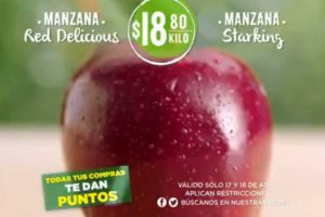 Frutas y Verduras Soriana 17 y 18 de Abril de 2018