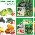 Frutas y Verduras HEB del 3 al 9 de Abril de 2018