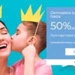 Interjet ofertas Dia de las Madres hasta 50% de descuento en vuelos nacionales e internacionales