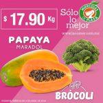 La Comer Miércoles de Plaza Frutas y Verduras 4 de Abril 2018