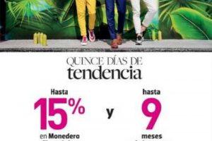 Liverpool Quince Días de Tendencia Hasta 15% de bonificación en moday 9MSI