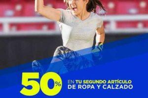 Martí 50% de descuento en ropa y calzado al 2 de mayo