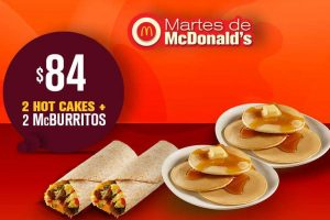 Cupones Martes de McDonald's 10 de abril 2018