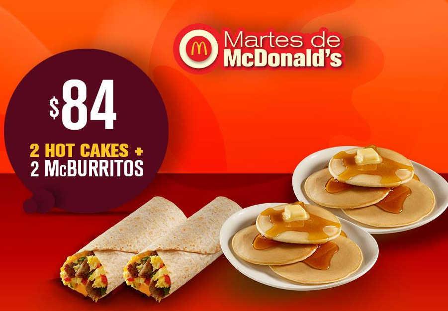 McDonald's: Cupones Martes de McDonald's 10 de abril 2018