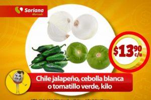 Soriana Mercado Ofertas en carnes y verduras del 6 al 9 de Abril 2018