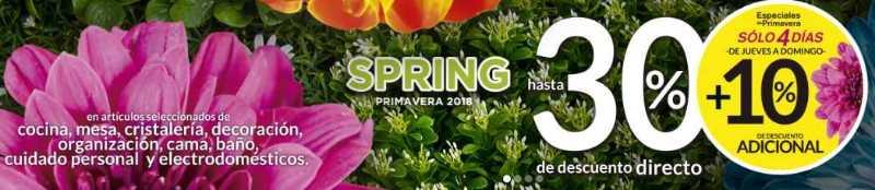 The Home Store: Ofertas especiales de primavera del 12 al 15 de Abril 2018