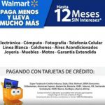 Walmart 12 MSI en tecnología, celulares, joyería al 30 de abril