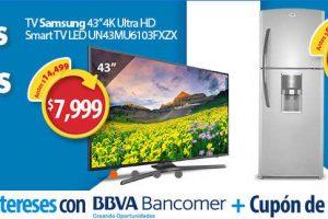 Walmart Cupón de $500 pesos y 18 Meses sin intereses con Bancomer