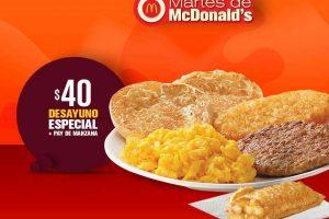 Cupones Martes de McDonald's 8 de Mayo 2018