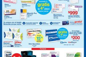 Farmacias Benavides Folleto de ofertas del 14 al 17 de mayo 2018