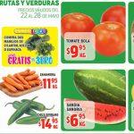 Frutas y Verduras HEB del 22 al 28 de Mayo de 2018