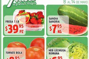 HEB Folleto de Frutas y Verduras del 8 al 14 de mayo 2018