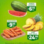 Frutas y Verduras HEB del 1 al 7 de Mayo de 2018