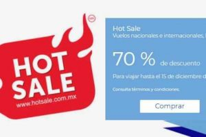 Promociones Hot Sale 2018 en Interjet
