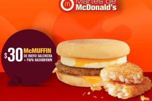 Martes de McDonald's 15 de mayo 2018