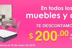 Mega Soriana:$250 de descuento en línea blanca, muebles y colchones