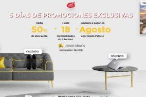 Promociones Hot Sale 2018 El Palacio de Hierro