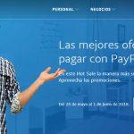 Promociones de Hot Sale 2018 en Paypal