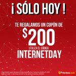 Soriana: cupón de $200 de descuento día del Internet 17 Mayo 2018