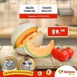 Frutas y verduras Soriana Mercado 16 y 17 de Mayo 2018