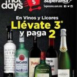 Ofertas Hot Days 2018 Superama 3×2 en vinos y licores