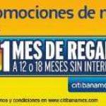 Ofertas Hot Sale 2018 Telcel 1 mes de regalo con Citibanamex