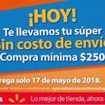 Walmart: Envío GRATIS Súper Jueves 17 de mayo de 2018