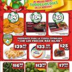 Bodega Aurrera: Frutas y Verduras Tianguis de Mamá Lucha 22 al 28 de Junio 2018