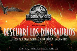 Cajita Feliz McDonald's Juguetes de dinosaurios Jurassic World