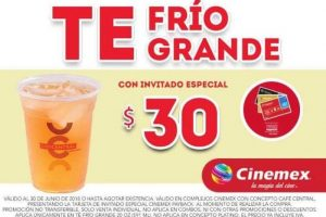 Cinemex Ofertas Invitado Especial Payback Junio 2018
