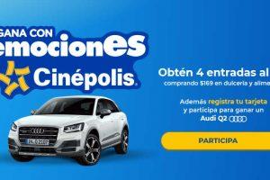 Cinépolis: Emociones Cinépolis 2018 Gana 4 entradas al 2x1 y Audi Q2