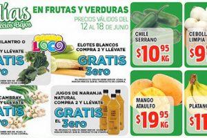 Ofertas de Frutas y Verduras HEB del 12 al 18 de junio 2018