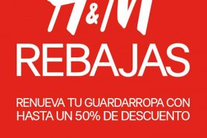 H&M: rebajas hasta 50% de descuento en prendas seleccionadas