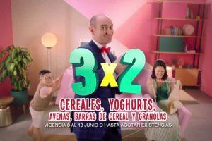 Julio Regalado 2018: 3×2 en yogurts, cereales, avenas, granolas y barras de cereal