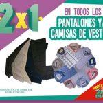 Julio Regalado 2018: 2x1 en pantalones y camisas de vestir