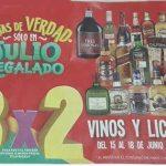 Julio Regalado 2018 Soriana y MEGA Soriana: 3x2 en Vinos y Licores