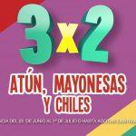 Julio Regalado 2018 Soriana: 3×2 en atún, mayonesas y chiles