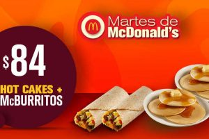 Martes de McDonalds 19 de Junio de 2018