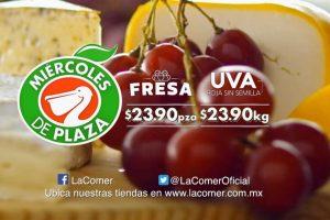 Frutas y Verduras Miércoles de Plaza La Comer 13 de Junio 2018