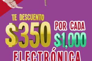 Soriana Julio Regalado 2018: $350 de descuento en Electrónica y Fotografía