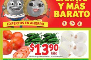 Soriana Mercado – Frutas y Verduras del 1 al 4 de junio de 2018