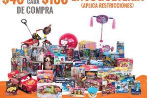 Temporada Naranja 2018: $40 de descuento por cada $100 en juguetes