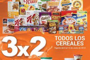 Temporada Naranja 2018 La Comer: 3x2 en cereales y yoghurts
