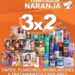 Temporada Naranja 2018 La Comer: 3X2 en tintes, fijadores, modeladores y tratamientos capilares