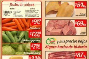 Bodega Aurrera: frutas y verduras del 27 de julio al 2 de agosto 2018