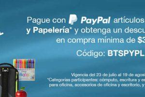 Costco y PayPal: Cupon $500 de descuento Regreso a Clases 2018