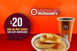 Cupones Martes de McDonald's 24 de julio de 2018