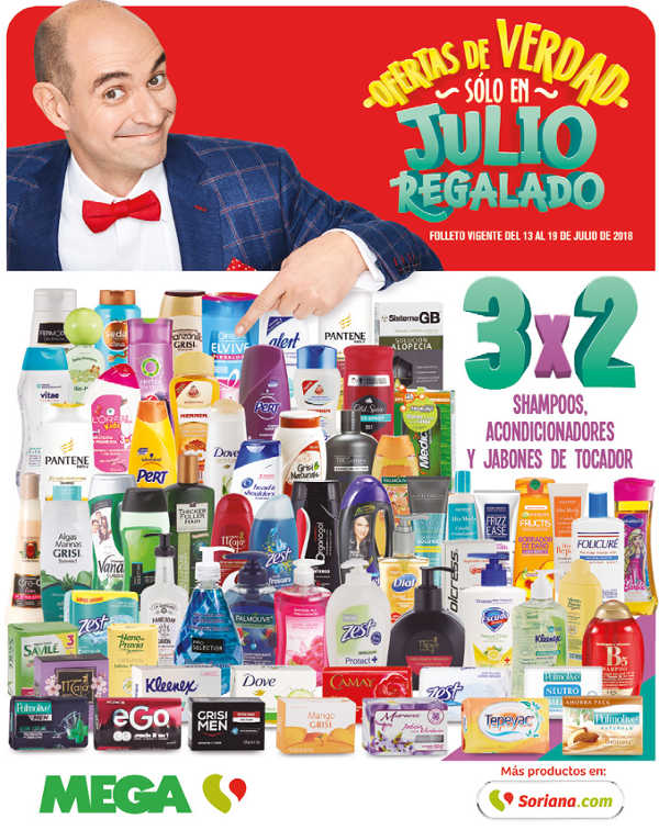 936216c337 Folleto de ofertas Soriana Julio Regalado 2018 del 13 al 19 de julio