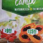 Frutas y Verduras Mega Soriana 10 y 11 de Julio 2018